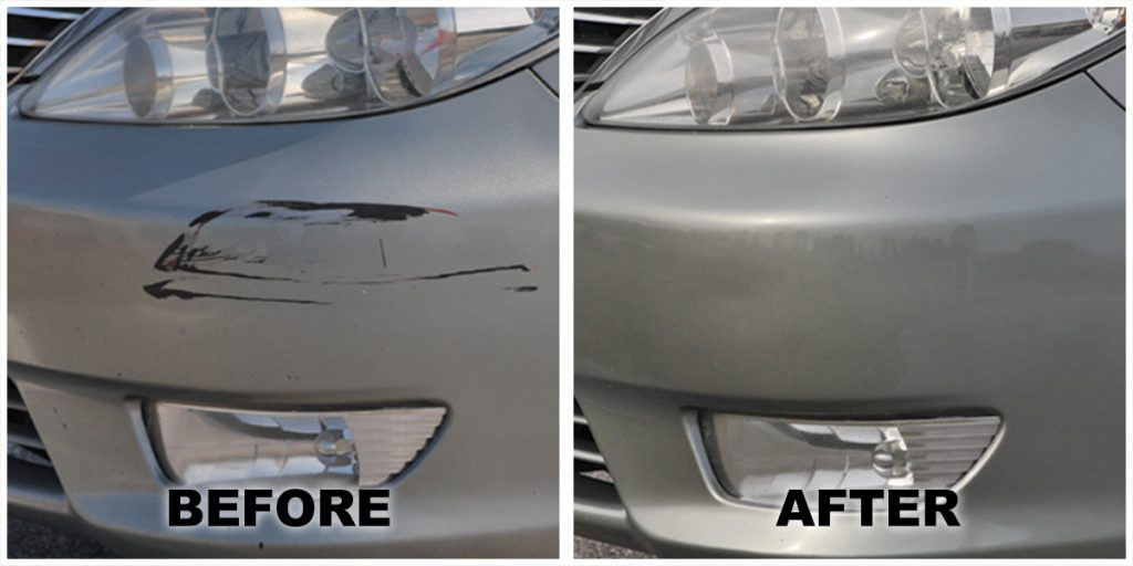 paint scratch repair bumper repair paint repair